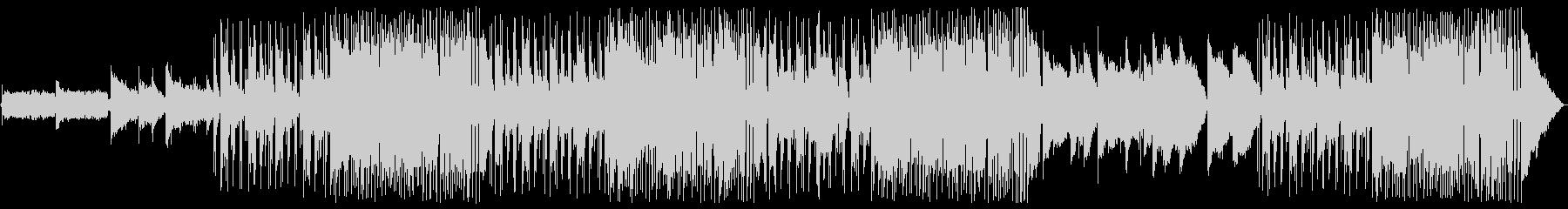 シンプルなギターフュージョンの未再生の波形