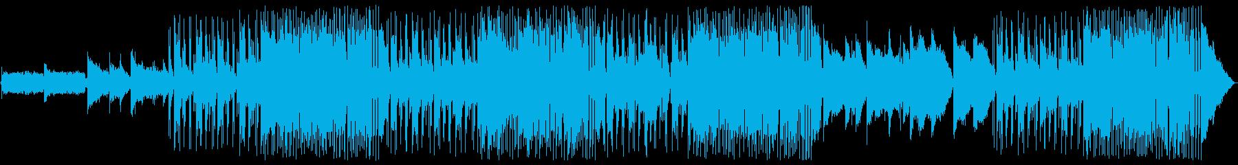 シンプルなギターフュージョンの再生済みの波形