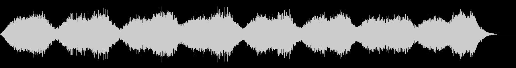 サスペンスなどの背景音にの未再生の波形