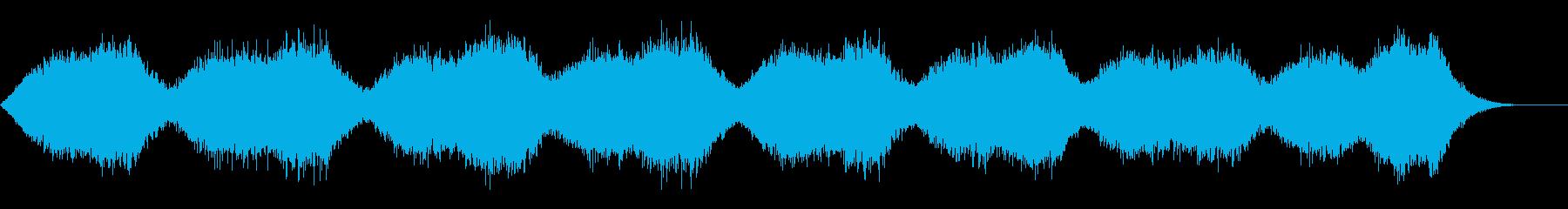 サスペンスなどの背景音にの再生済みの波形