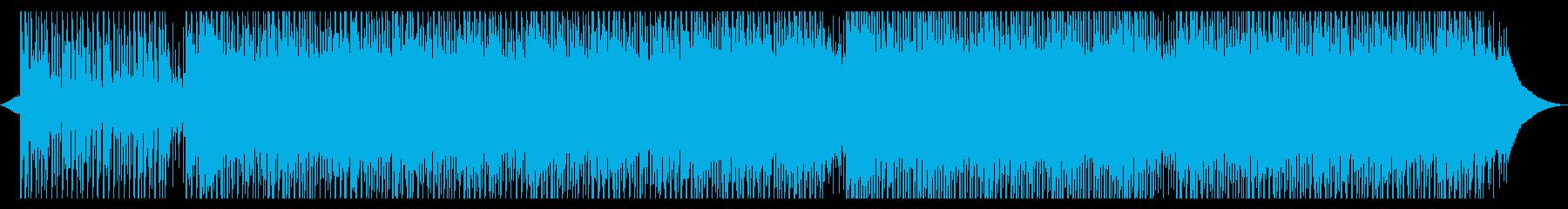 仕事の決意の再生済みの波形