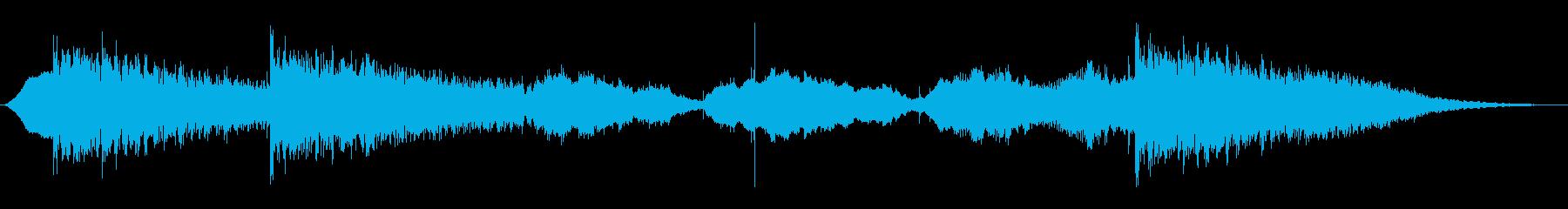 潜入・事件・追手から隠れるシーンのBGMの再生済みの波形