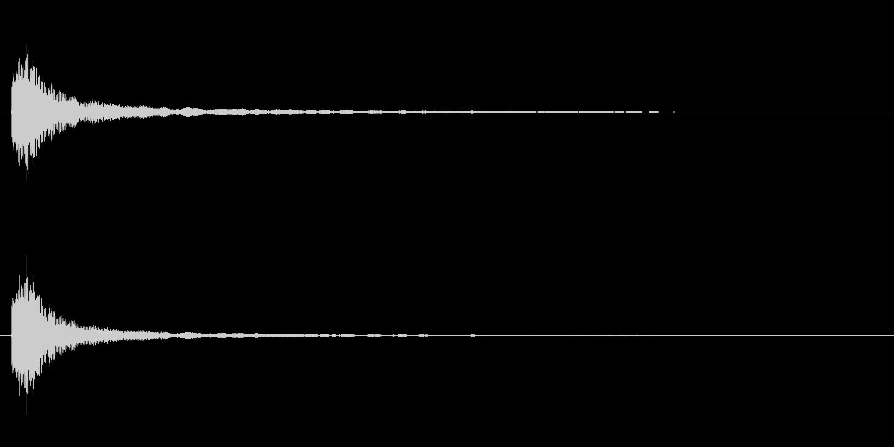 擬音【きゅろりー】氷をイメージしたグラ…の未再生の波形
