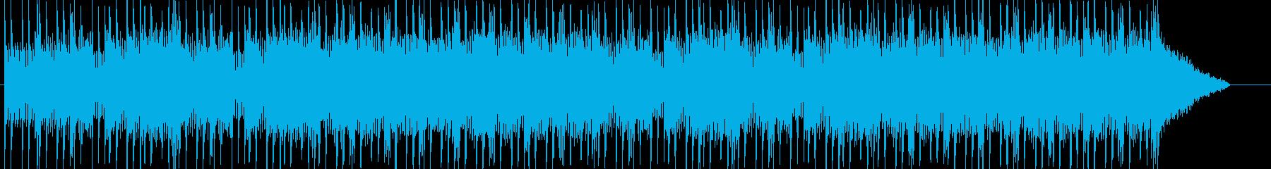 何かが始まる前のようなさわやかなBGMの再生済みの波形