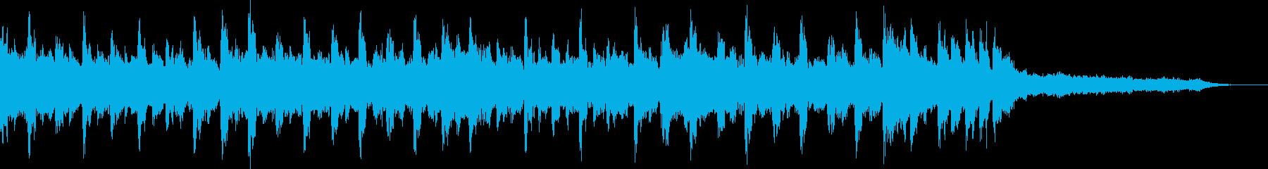 【ジングル】チャンネル登録・元気な曲の再生済みの波形