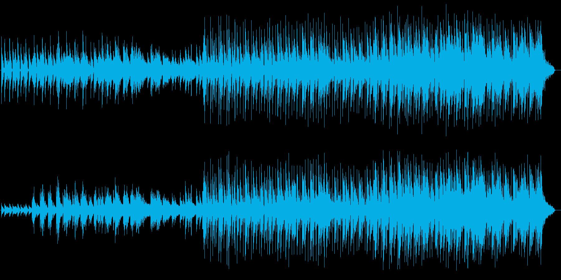 穏やかで優しいアコギとピアノのバラードの再生済みの波形