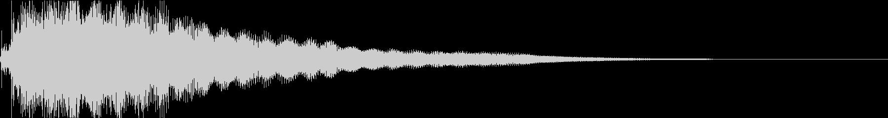 ジャラーン:アコースティックギターeの未再生の波形