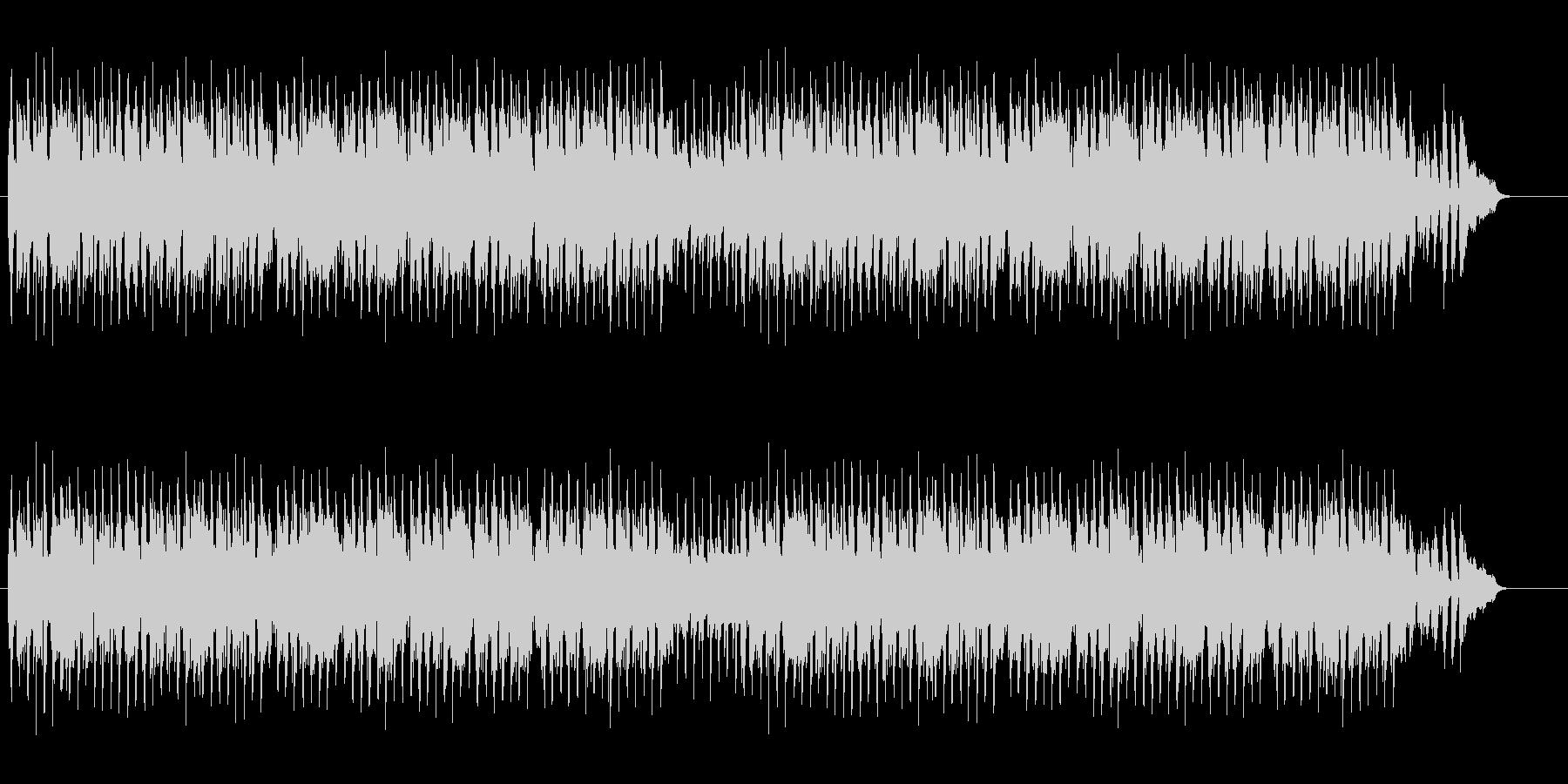 トコトコ歩きたい口笛曲の未再生の波形