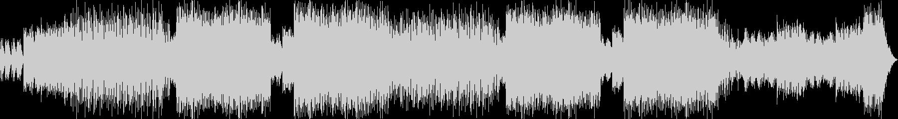 EDM調のBGMの未再生の波形
