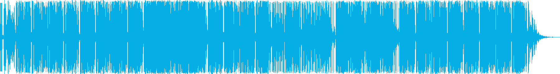 素晴らしい溝切りエネルギーを提供す...の再生済みの波形