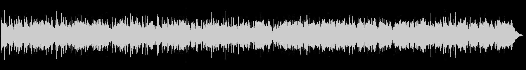 3拍子のオリエンタルバラードの未再生の波形