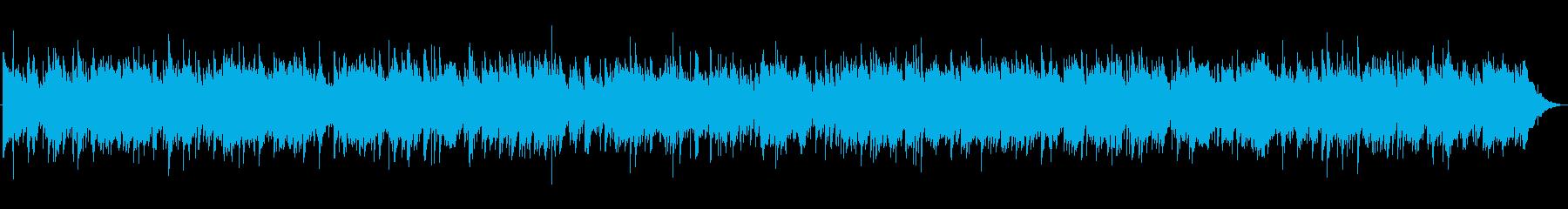 3拍子のオリエンタルバラードの再生済みの波形