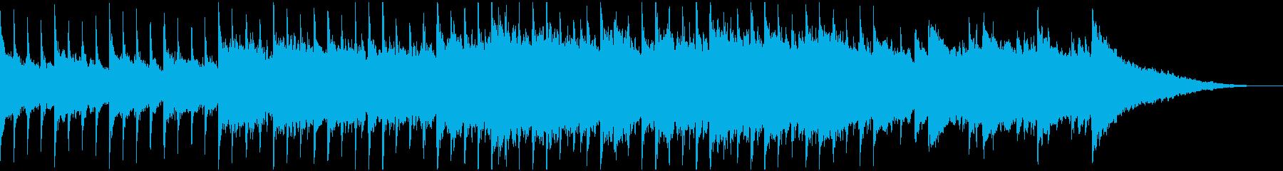 60秒,企業VP,コーポレート,優しいの再生済みの波形