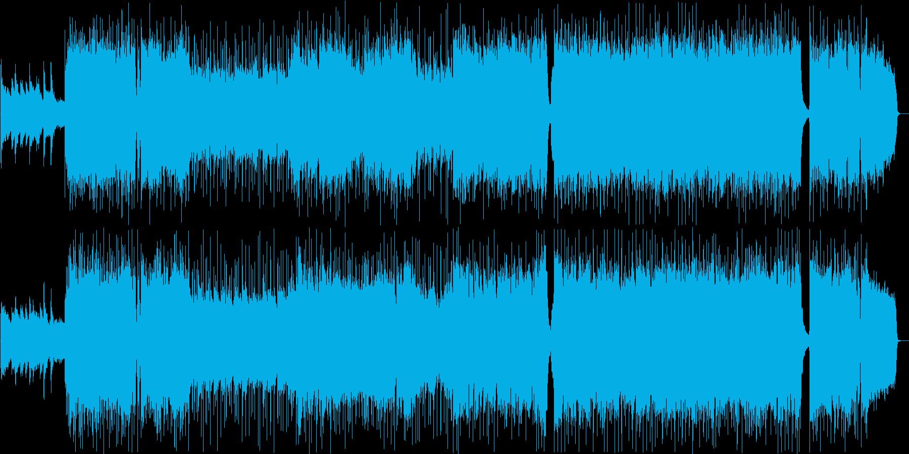 切ない・青春・アニソン・テーマ曲の再生済みの波形