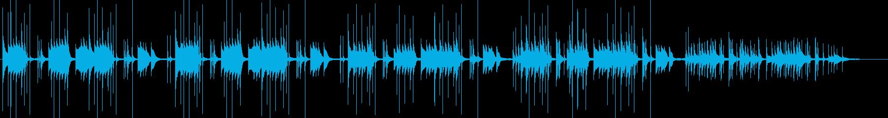 波音でリラックス、南の島、ビブラフォンの再生済みの波形