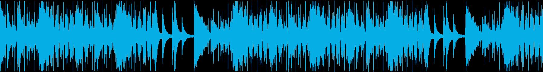 【おしゃれで落ち着いた雰囲気のJAZZ】の再生済みの波形