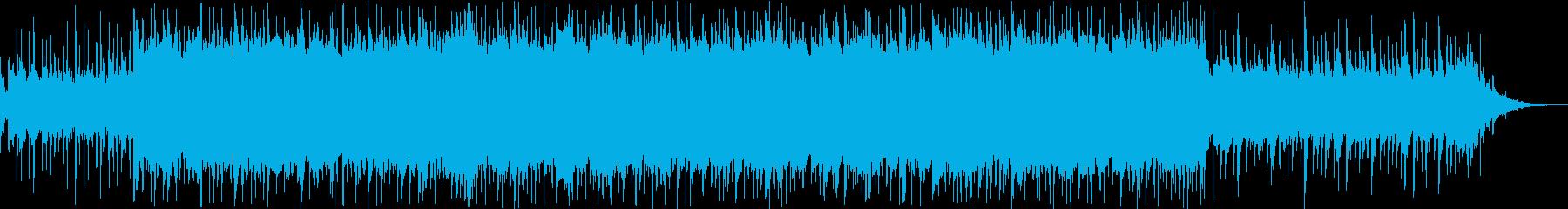 柔らかい雰囲気のテクノポップ(ver2)の再生済みの波形