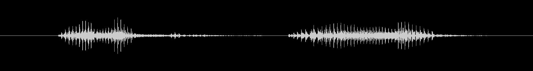 今すぐダウンロード(低めイケボ風)の未再生の波形