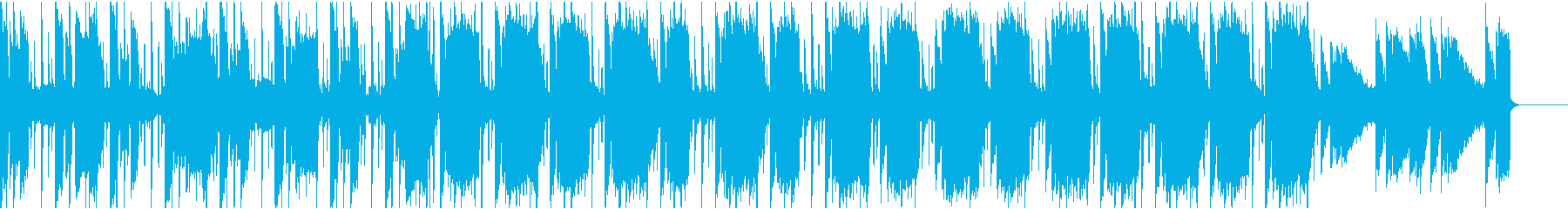 力強いおしゃれ伝統ヒップホップビートの再生済みの波形