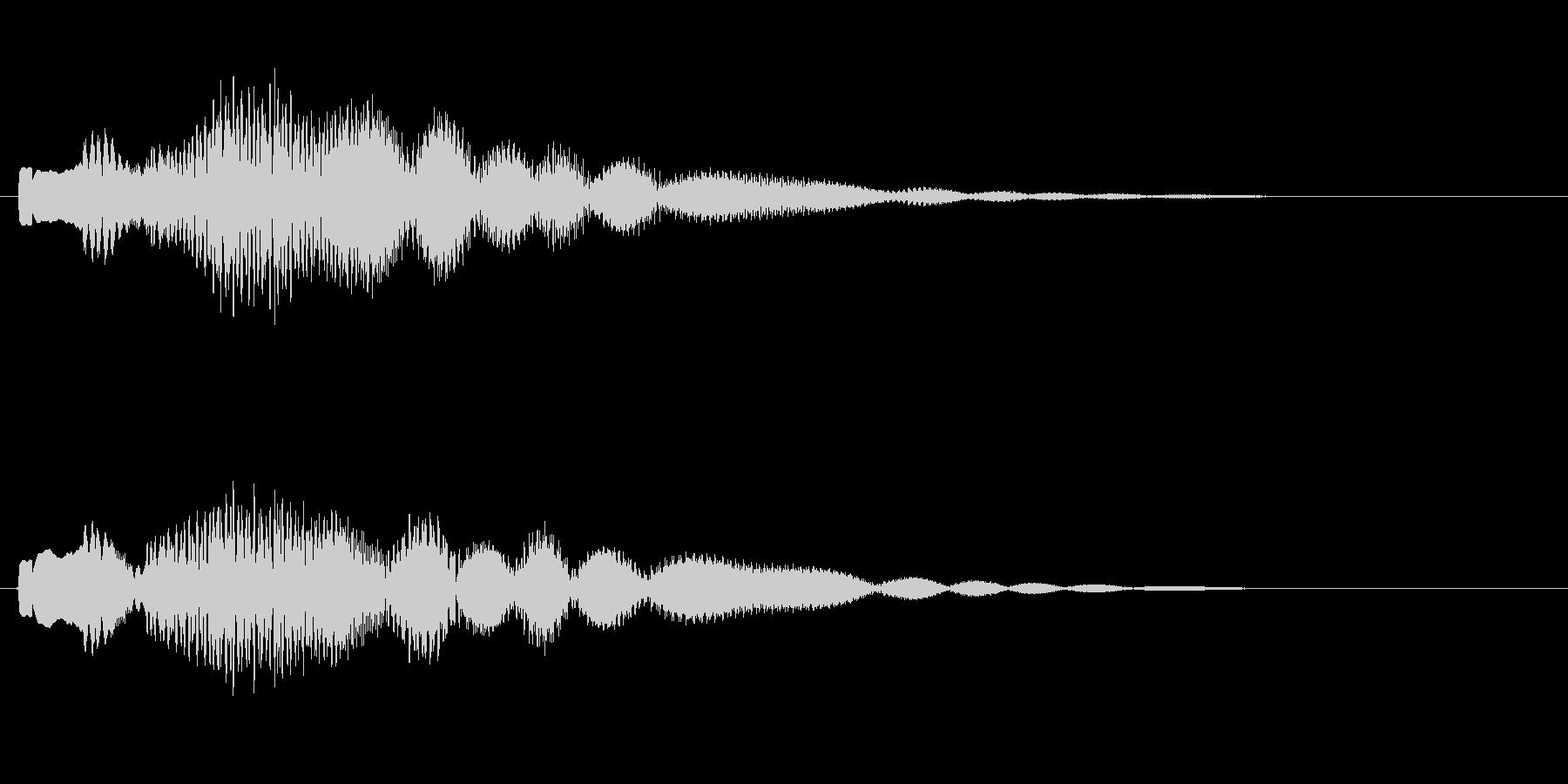 携帯、スマホなどの着信音です の未再生の波形