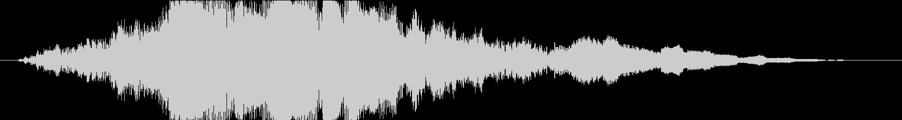 斬撃 メタリックランブル03の未再生の波形