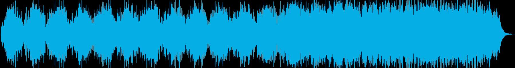 流星をイメージした曲です。の再生済みの波形