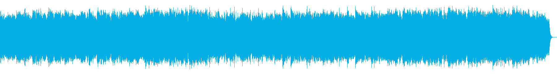 風の物語 竹笛の即興音楽の再生済みの波形