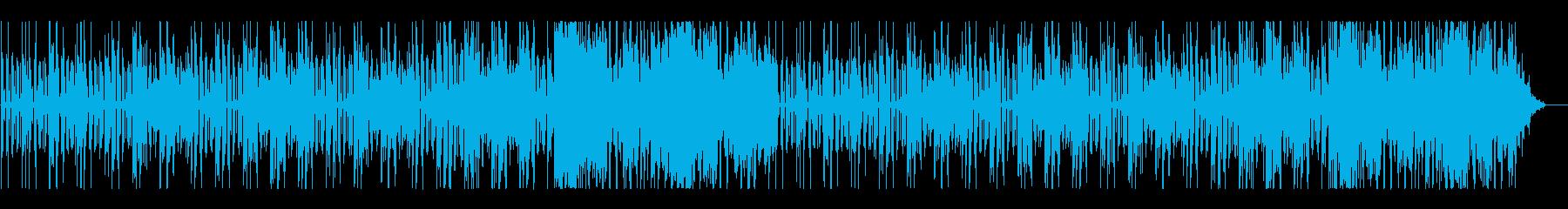 日常コメディ風ほのぼのBGMの再生済みの波形