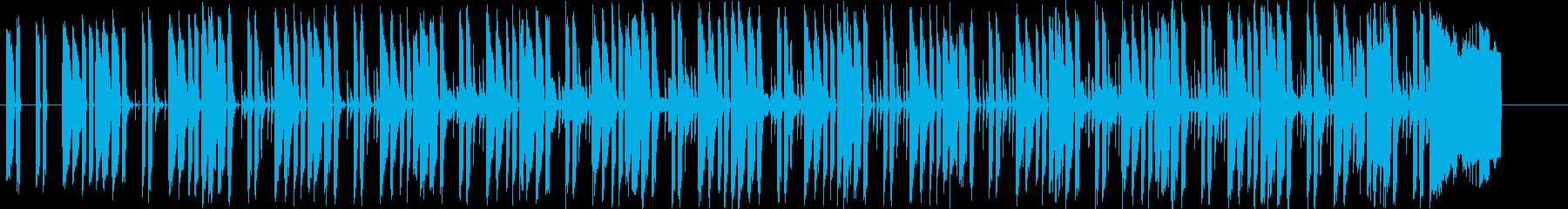 エレピが軽快なリズムを刻むテクノポップの再生済みの波形