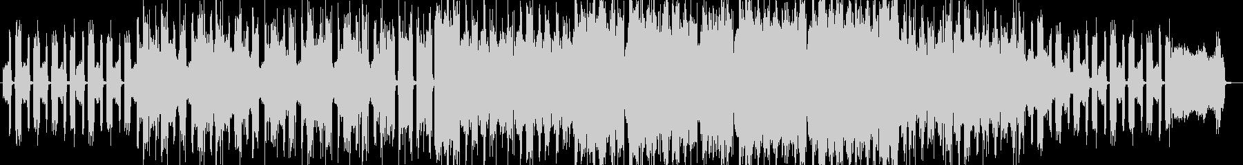 アコーディオン、怪しい雰囲気のBGMの未再生の波形