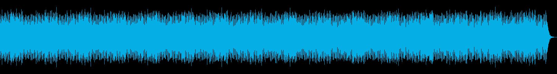 メルヘンチックなワルツ調BGMの再生済みの波形