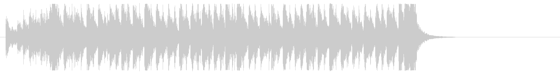 三味線 太鼓のアンサンブル BPM136の未再生の波形