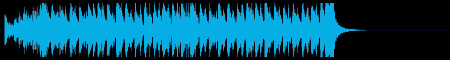 三味線 太鼓のアンサンブル BPM136の再生済みの波形
