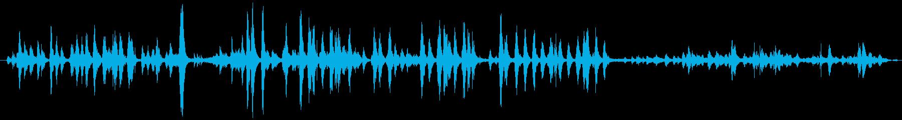 屋内犬の犬小屋:犬のBAえ、鳴き、...の再生済みの波形