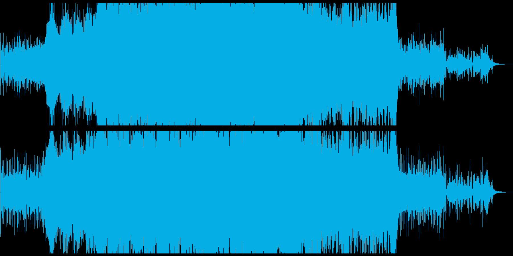 壮大なシネマティック、シリアス、ダークの再生済みの波形