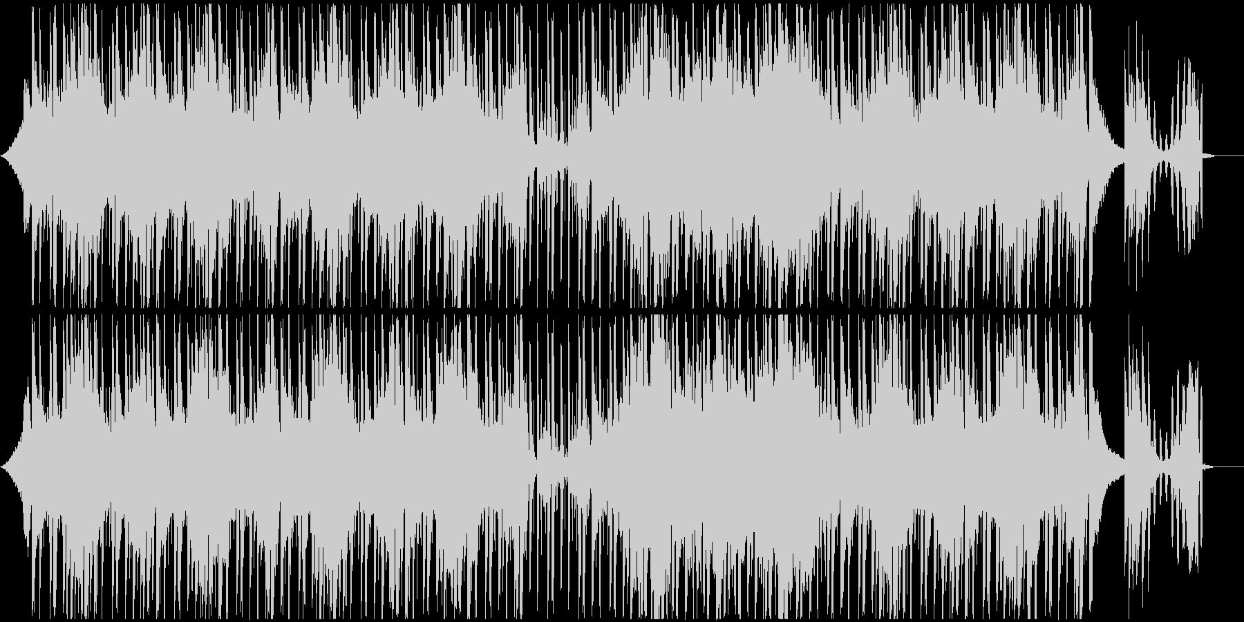 ピアノとSEの軽快なチルの未再生の波形