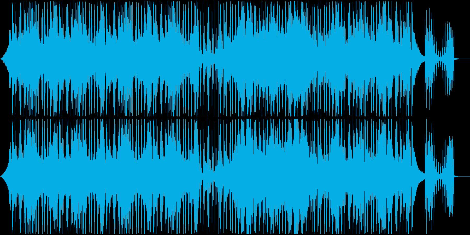 ピアノとSEの軽快なチルの再生済みの波形
