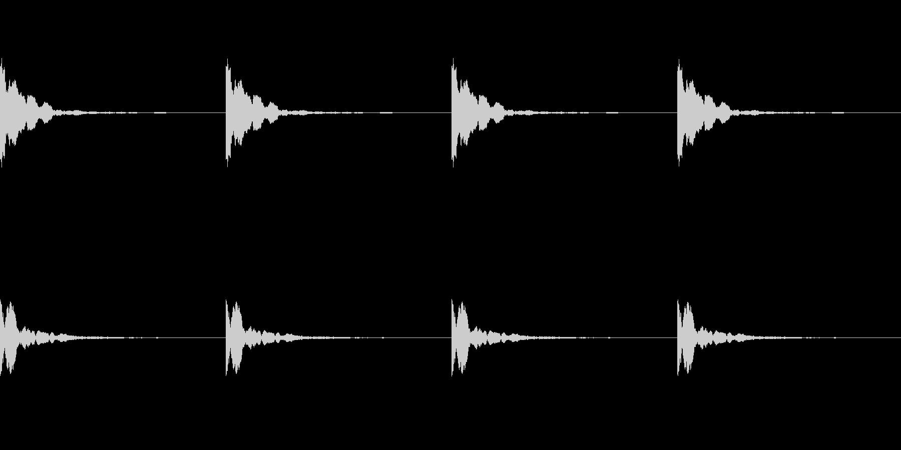 ポーン:ソナーのレーダー音(ループ可)の未再生の波形