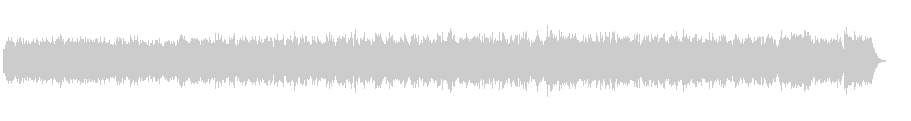 エオリアンハープの未再生の波形