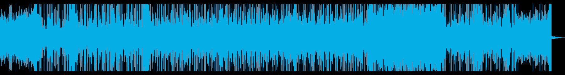 不穏なイントロと力強いドラムが印象的な曲の再生済みの波形