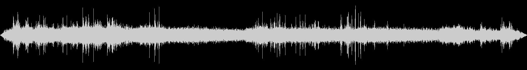 工事現場の 音の未再生の波形