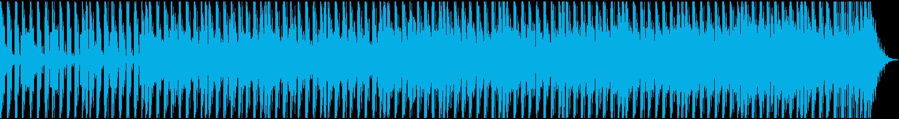 ダンスエレクトロニックトラックはエ...の再生済みの波形