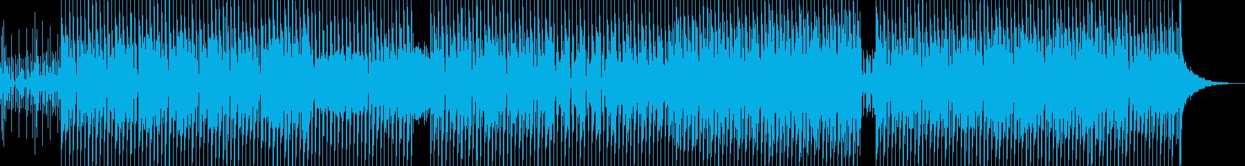 伝染的なビートと輝くダンスグルーブの再生済みの波形