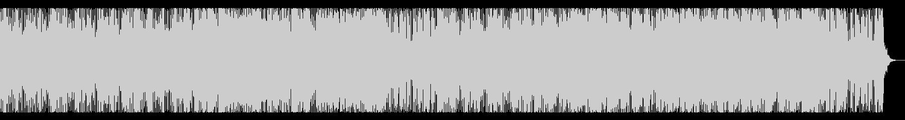ラテンテイストのダンスチューンの未再生の波形