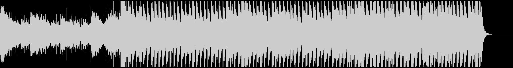 60秒版企業VP徐々に立ち上がっていく曲の未再生の波形