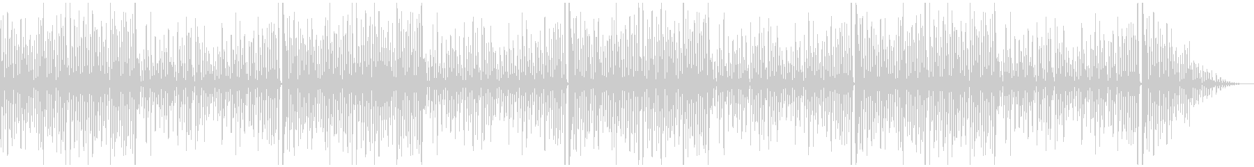 「ジングルベル」シンプルなピアノソロの未再生の波形