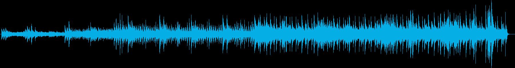 冬の朝を表現したキャッチなキラっと管弦楽の再生済みの波形