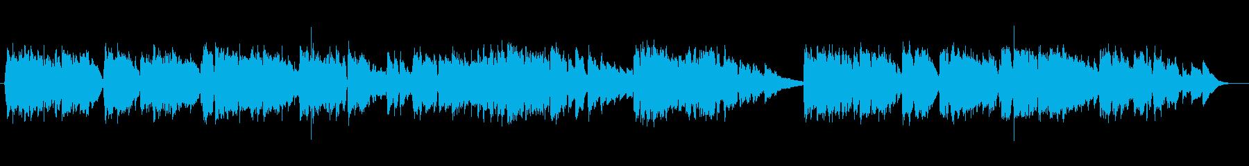 英語洋楽:静かな純愛バラード・アコギ独唱の再生済みの波形