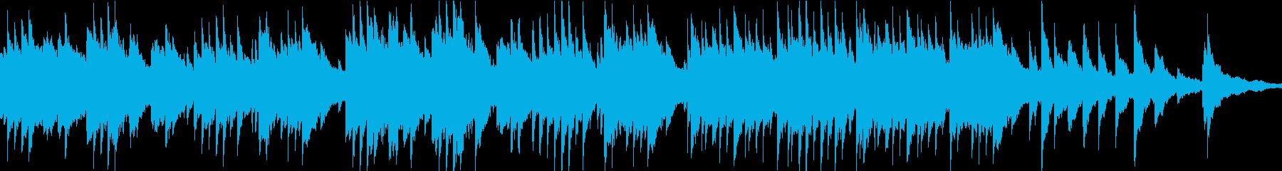切なく温かいオルゴール(ループ)の再生済みの波形