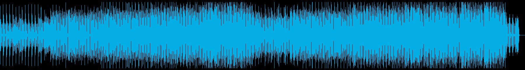 不気味でコミカルなテクノの再生済みの波形